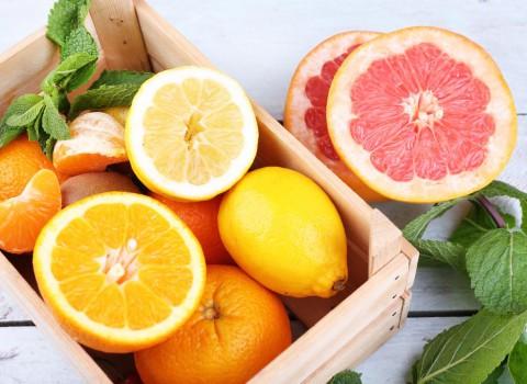 citrusvruchten in een serre